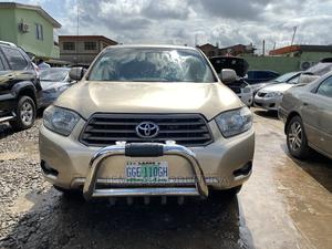 Toyota Highlander 2008 Gold   Cars for sale in Lagos State, Agege