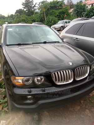 BMW X5 2005 3.0d Automatic Black | Cars for sale in Abuja (FCT) State, Karu