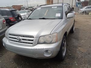 Toyota Highlander 2003 Silver   Cars for sale in Lagos State, Ojodu