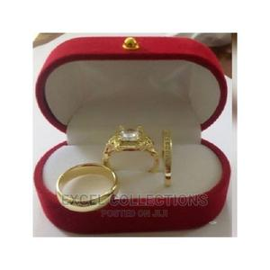 Rommanel Gold Weddding Ring Sets | Wedding Wear & Accessories for sale in Lagos State, Surulere