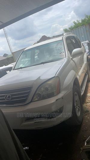 Lexus GX 2004 470 White   Cars for sale in Lagos State, Apapa