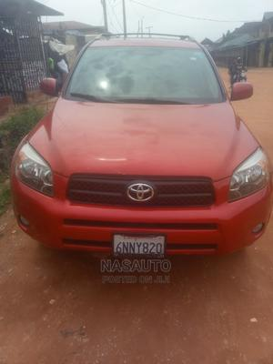 Toyota RAV4 2008 2.4 Red | Cars for sale in Lagos State, Alimosho
