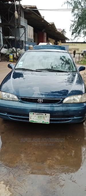 Toyota Corolla 1998 Sedan Automatic Blue | Cars for sale in Lagos State, Ikeja