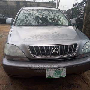 Lexus RX 2002 300 4WD Silver | Cars for sale in Rivers State, Obio-Akpor