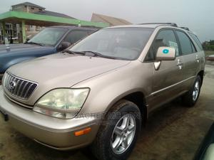 Lexus RX 2002 Gold | Cars for sale in Rivers State, Port-Harcourt