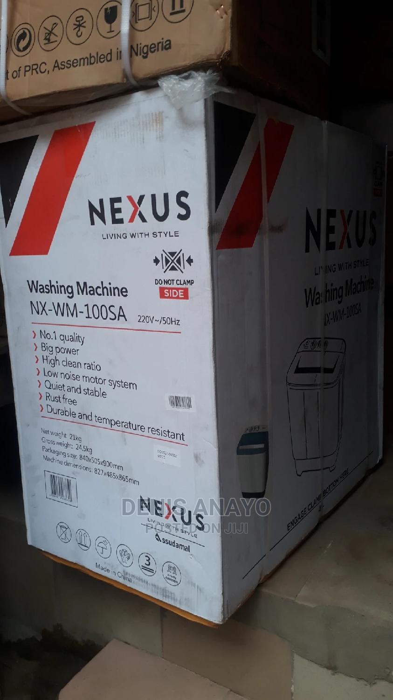 Archive: Nexus 10KG Twin Tub Semi Automatic Washing Machine - NX-WM