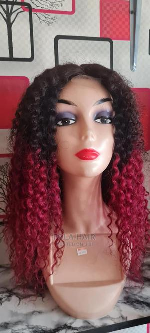 Kinky Two Toned Wig   Hair Beauty for sale in Ogun State, Sagamu
