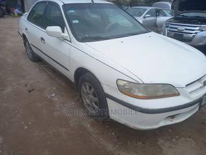 Honda Accord 1998 2.0i Coupe White   Cars for sale in Lagos State, Magodo