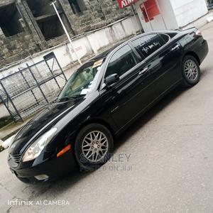 Lexus ES 2004 330 Sedan Black | Cars for sale in Lagos State, Yaba