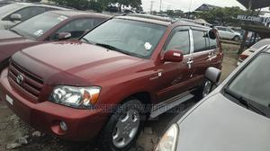 Toyota Highlander 2007 Limited V6 Red   Cars for sale in Lagos State, Amuwo-Odofin