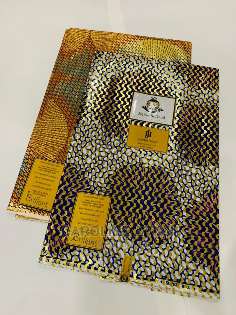 Archive: Julius Holland Gold Wax