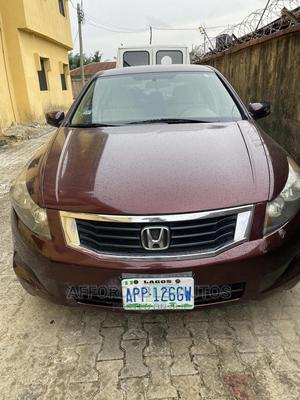 Honda Accord 2009 2.0i Automatic Red | Cars for sale in Lagos State, Lekki