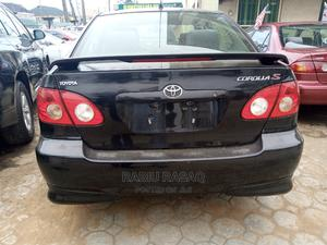 Toyota Corolla 2005 Black | Cars for sale in Lagos State, Alimosho