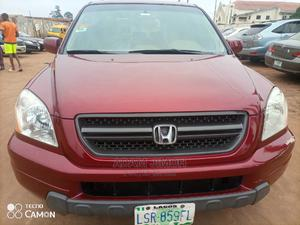 Honda Pilot 2005 EX 4x4 (3.5L 6cyl 5A) Red | Cars for sale in Lagos State, Ikotun/Igando