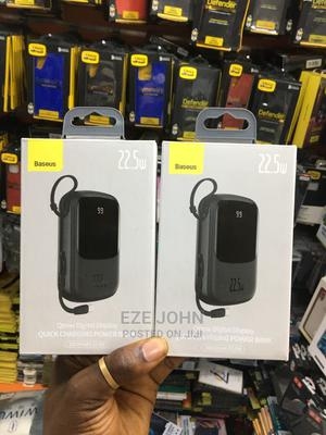Baseus Super Small Q-Pow Digital Display Power Bank 20000mah | Accessories for Mobile Phones & Tablets for sale in Lagos State, Ikeja