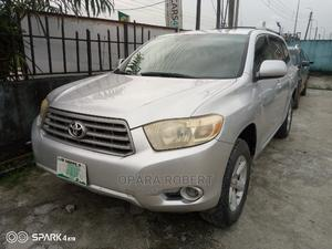 Toyota Highlander 2008 4x4 Silver   Cars for sale in Rivers State, Port-Harcourt