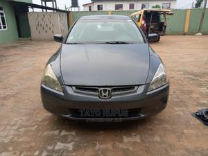 Honda Accord 2003 2.4 Automatic Gray | Cars for sale in Lagos State, Ikorodu