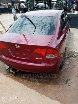 Honda Civic 2006 1.8 Sport Automatic Red   Cars for sale in Lagos State, Alimosho