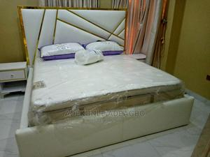 Good Finishing Bed With 2 Bedside   Furniture for sale in Lagos State, Abule Egba