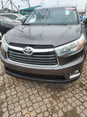 Toyota Highlander 2016 Gray   Cars for sale in Lagos State, Ajah