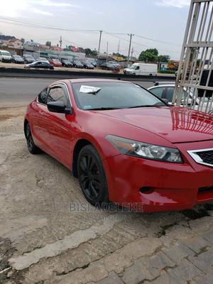 Honda Accord 2009 Coupe EX-L Automatic Red   Cars for sale in Lagos State, Ikeja
