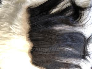 """18"""" Silky Straight Human Hair and Frontal   Hair Beauty for sale in Lagos State, Ikorodu"""