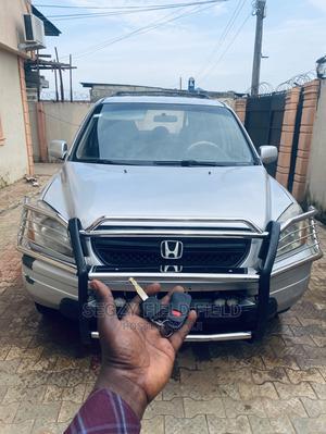 Honda Pilot 2004 EX 4x4 (3.5L 6cyl 5A) Silver | Cars for sale in Lagos State, Ikorodu