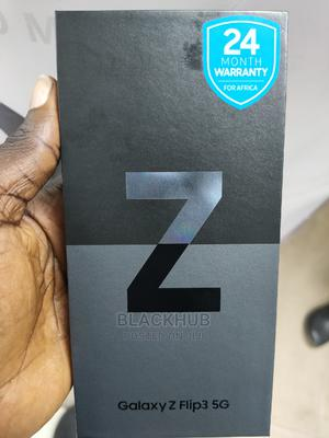 New Samsung Galaxy Z Flip 3 256 GB Black   Mobile Phones for sale in Lagos State, Ikeja