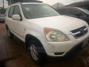 Honda CR-V 2004 2.0i ES Automatic White | Cars for sale in Lagos State, Ifako-Ijaiye