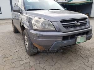 Honda Pilot 2004 EX 4x4 (3.5L 6cyl 5A) Silver | Cars for sale in Lagos State, Ogba