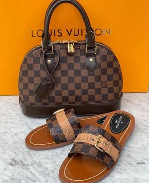 Louis Vuitton Bag and Slippers   Bags for sale in Lagos State, Lekki