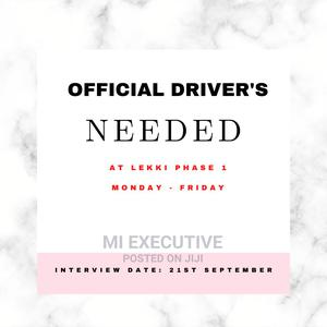 Driver's Needed Urgently   Driver Jobs for sale in Lagos State, Lekki
