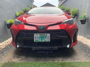 Toyota Corolla 2017 Red | Cars for sale in Lagos State, Ikeja