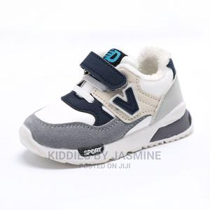 Big Boy Girl White Mix Sneakers | Children's Shoes for sale in Lagos State, Alimosho