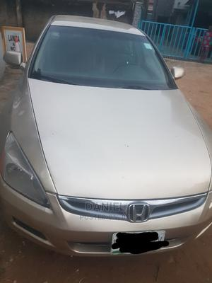 Honda Accord 2007 Gold   Cars for sale in Lagos State, Ilupeju