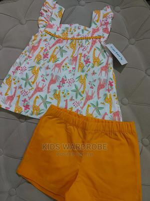 Carter's 2-Piece Animal Jersey Tee Short Set   Children's Clothing for sale in Abuja (FCT) State, Gwarinpa
