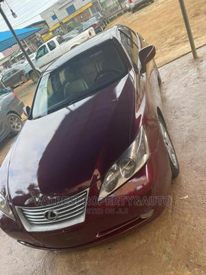 Lexus ES 2008 350 Red | Cars for sale in Lagos State, Ikotun/Igando