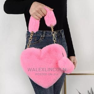 Lady Faux Fur Shoulder Handbag | Bags for sale in Lagos State, Abule Egba