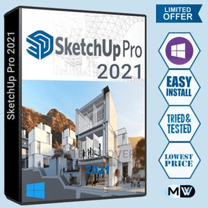 Sketchup Pro 2021 | Software for sale in Lagos State, Ikeja