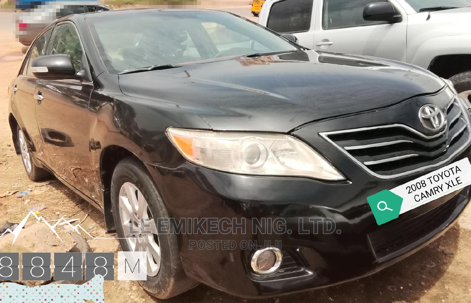 Toyota Camry 2008 Black   Cars for sale in Nyanya, Abuja (FCT) State, Nigeria