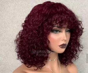 Kinky Curls Fringe Wigs   Hair Beauty for sale in Lagos State, Ikotun/Igando
