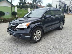 Honda CR-V 2008 2.4 LX 4x4 Automatic Black | Cars for sale in Kaduna State, Kaduna / Kaduna State