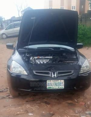 Honda Accord 2004 Automatic Black | Cars for sale in Abuja (FCT) State, Lugbe District