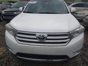 Toyota Highlander 2012 Limited White | Cars for sale in Lagos State, Agege