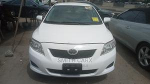 Toyota Corolla 2009 White   Cars for sale in Lagos State, Kosofe
