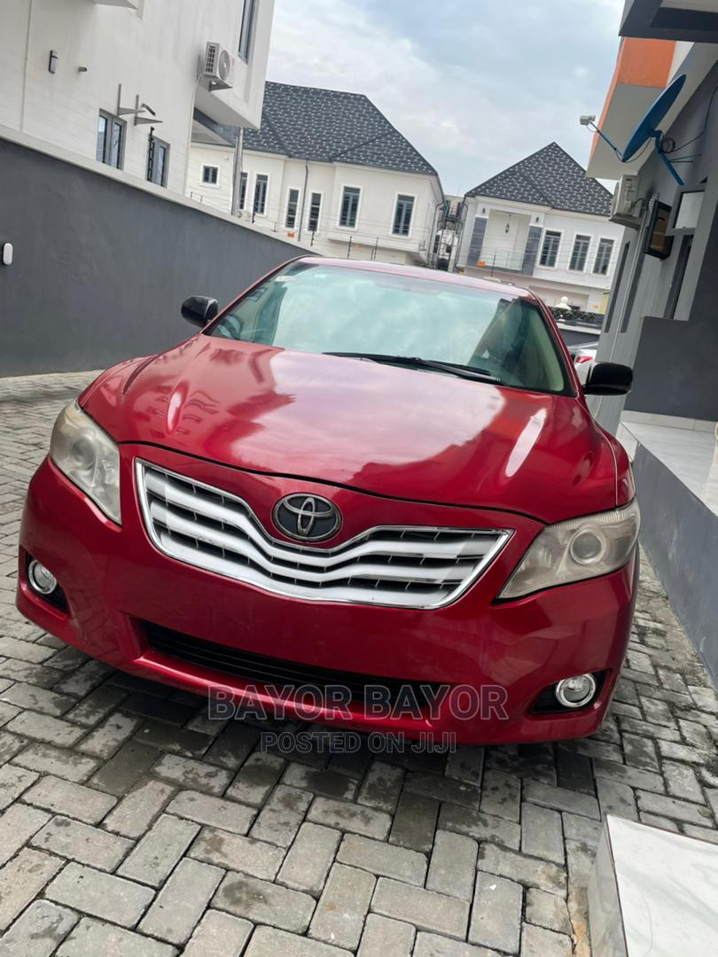 Toyota Camry 2008 Red
