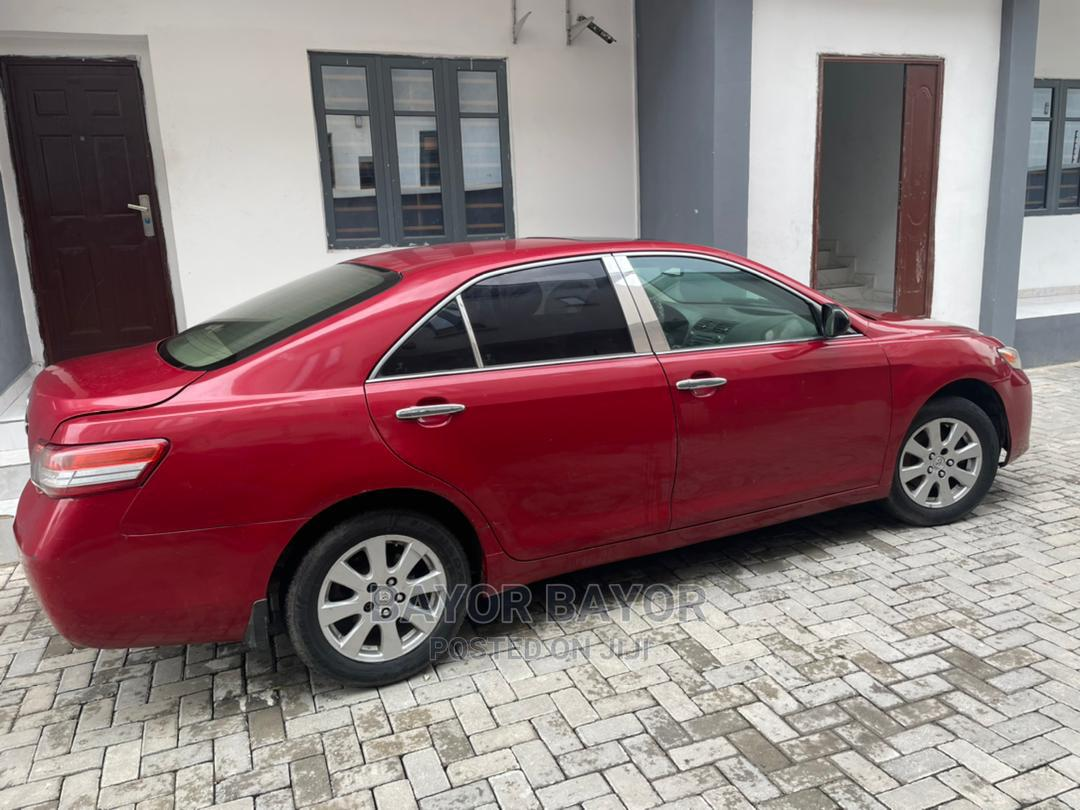 Toyota Camry 2008 Red   Cars for sale in Yaba, Lagos State, Nigeria