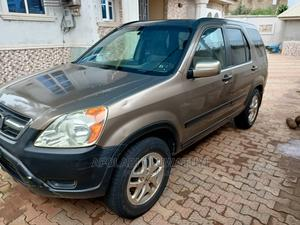 Honda CR-V 2004 EX 4WD Automatic Gold | Cars for sale in Oyo State, Ibadan