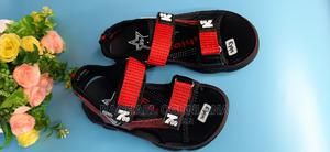 A Black and Red Sandal Available in Size 39.   Children's Shoes for sale in Lagos State, Abule Egba