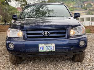 Toyota Highlander 2004 Limited V6 FWD Blue   Cars for sale in Abuja (FCT) State, Gwarinpa